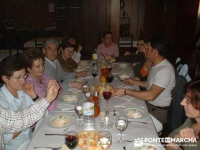 Comida en Peñafiel - divertirse; marcha de san sebastián